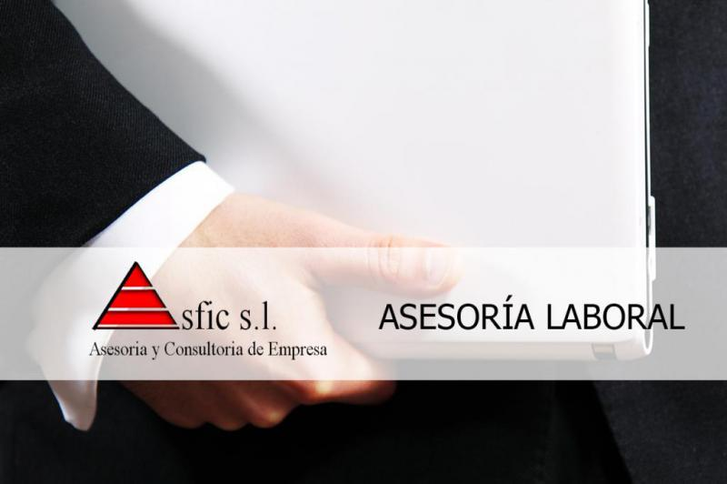 La Asesoría ASFIC de Valencia presta servicios de asesoramiento laboral