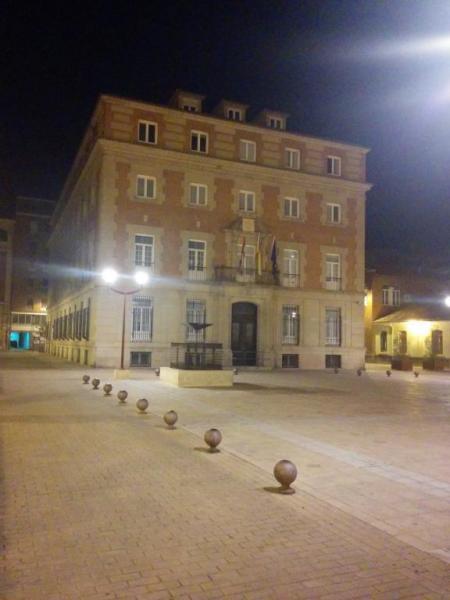 Plaza de los Juzgados y Audiencia Provincial de Palencia.